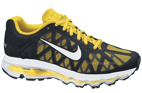 2011 Nike Air Max Yellow
