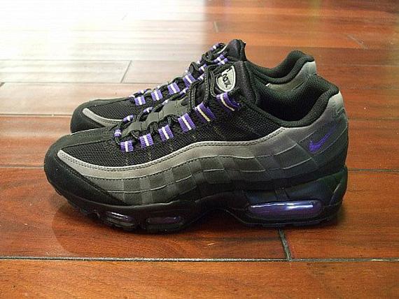 Nike Air Max 95 Sombra Negro Púrpura rIqJi3Kf