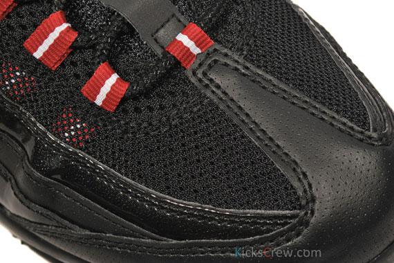 5cb7ef62f66c free shipping Nike Air Max 95  C Black  C Varsity Red  C Patent ...