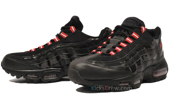 air max 95 black and red