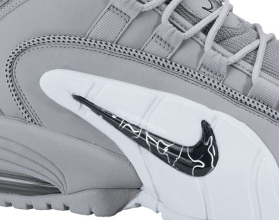 high quality Nike Air Max Penny 1 Wolf Grey Black White