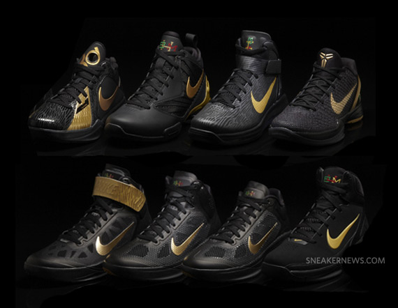 457914e290a0d7 Nike Basketball  Black History Month  Complete Collection ...