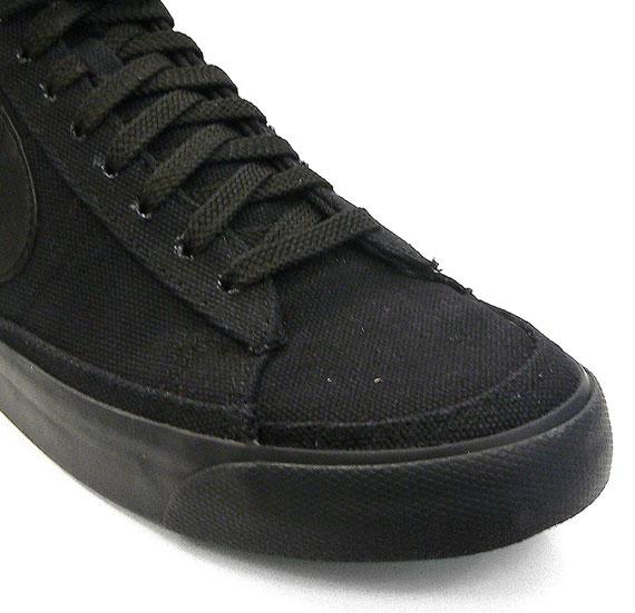 newest b961d 4da6d Nike Blazer Mid 09 ND Canvas – White + Black - SneakerNews.c