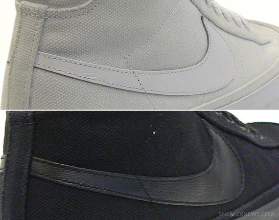 Nike Blazer Mid 09 ND Canvas White Black