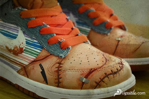 Nike Dunk High 'Child's Play' Custom By