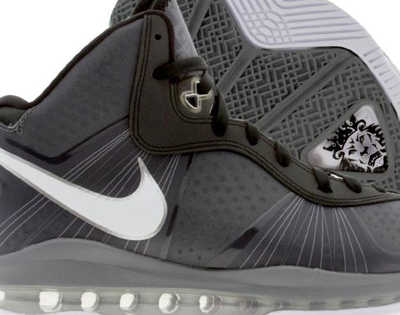 f667229065b8 Nike LeBron 8 V 2 – Cool Grey – White