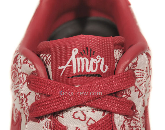 promo code f026f 94ac2 Nike WMNS Air Force 1 Low - Valentine's Day 'Amor' - SneakerNews.com