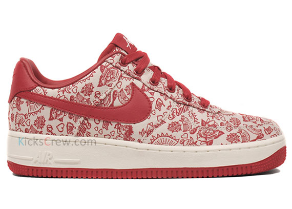 new style ead53 69e89 Nike WMNS Air Force 1 Low - Valentine s Day  Amor  - SneakerNews.com