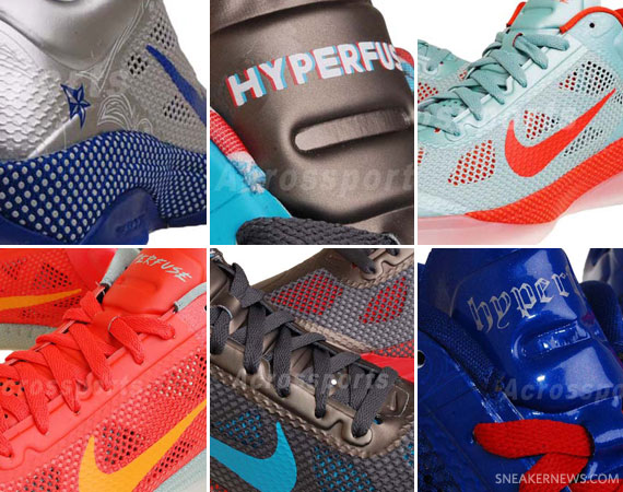 new styles 5f8dc cf707 Nike Hyperfuse Low 2011 All-Star Pack – Available on eBay