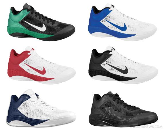 emitir Enjuague bucal Superficie lunar  Nike Zoom Hyperfuse Low TB – Spring 2011 Colorways - SneakerNews.com