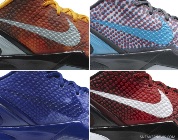 cheaper 59884 f29f6 Nike Zoom Kobe VI All-Star Pack – Release Info