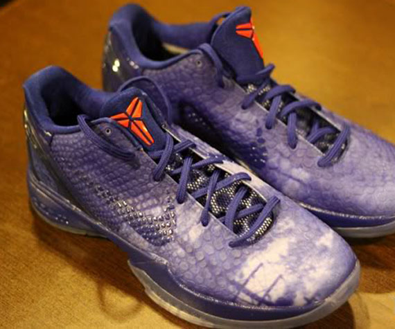 76778dac031 Style  448693-400. Color  Drenched Blue Metallic Silver-Sport Red ·  low-cost Nike Zoom Kobe VI East LA Hitting Retail