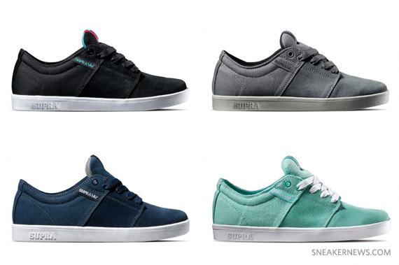 ... lowest price 5e14f 5f7ed Supra Stacks – Spring 2011 Colorways -  SneakerNews.com ... 0f7106698f