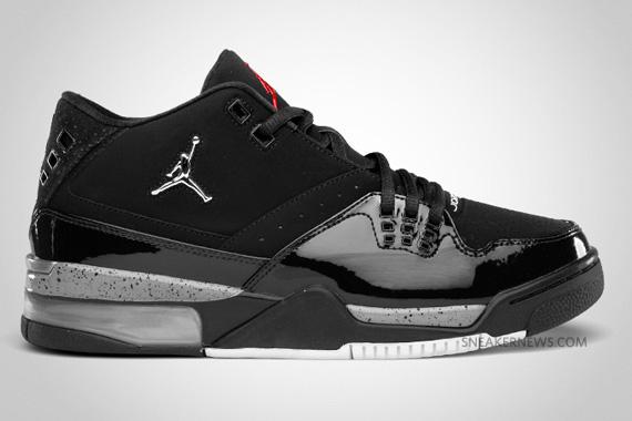 27609c312ac7b3 Jordan Flight23 Style  317820-010. Color  Black Metallic Silver-Varsity  Red-Cement Grey Release Date  March 5th