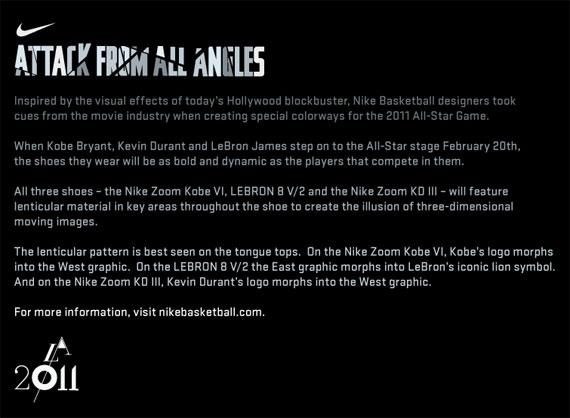 713d73ec3ae3 Nike Basketball 2011 All-Star Game Footwear - SneakerNews.com