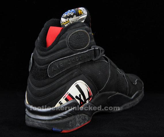 Air Jordan Viii Og Sample Alternate Jumpman Logo Sneakernews