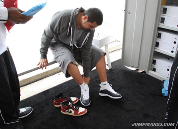 Air Jordan 2011 L.A. Wear Tests