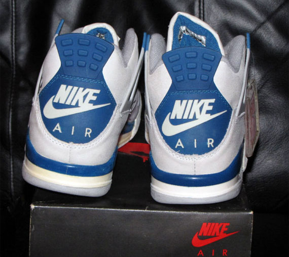 Air Jordan IV – Military Blue  b345e33fc