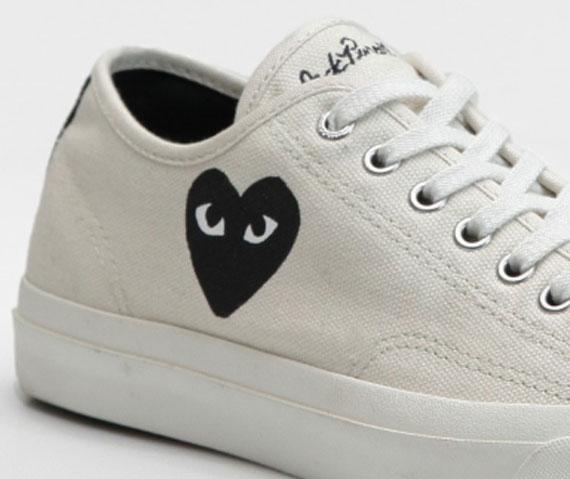 Comme des Garçons PLAY for Converse Jack Purcell - SneakerNews.com 0238d6d09