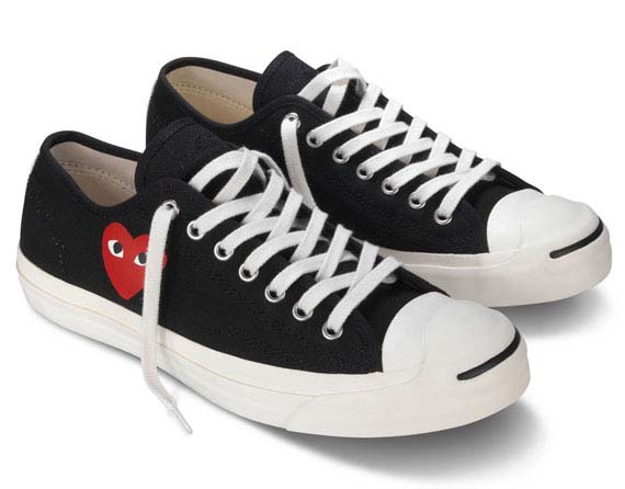 Comme des Garcons PLAY x Converse Jack Purcell Now