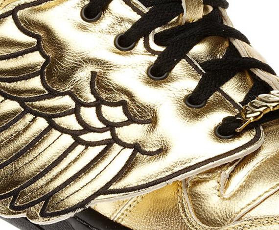 Jeremy Scott x adidas Originals JS Wings - Gold - Black  bb93bd8dac15