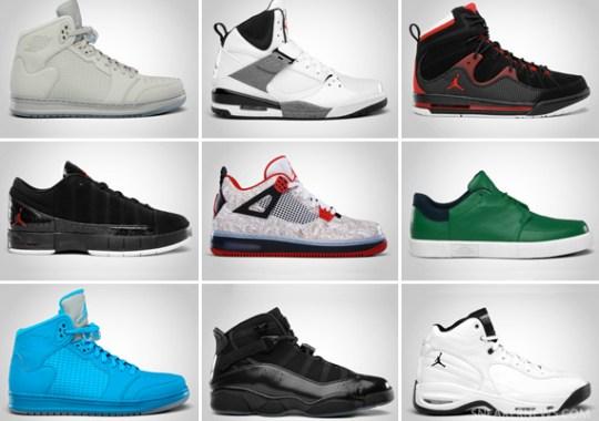 Jordan Brand March 2011 Footwear Releases Update