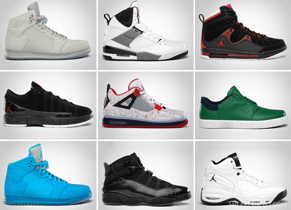29c0e12cd34 Jordan Brand March 2011 Footwear Releases Update