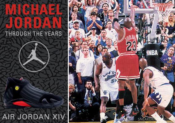 new product dd402 ddaa1 Michael Jordan Through The Years: Air Jordan XIV ...