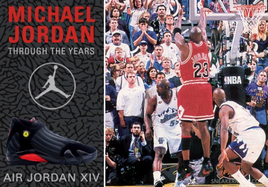 Michael Jordan Through The Years: Air Jordan XIV