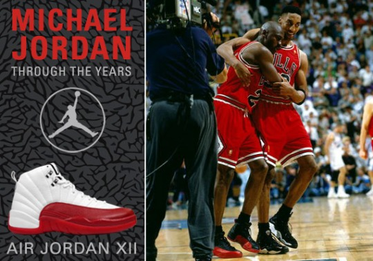 Michael Jordan Through The Years: Air Jordan XII