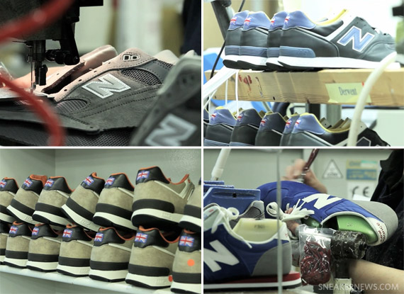 New Balance 'Made in England' Flimby Factory Video