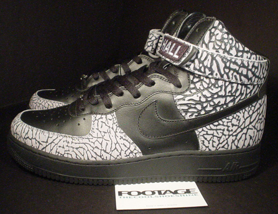 info pour bebab 1d226 Nike Air Force 1 High – Black – Cement Grey | Chris Hall ...