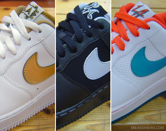 separation shoes d9edd 4dbad Nike Air Force 1 Low - 2011 NBA All-Star Pack | New Images ...