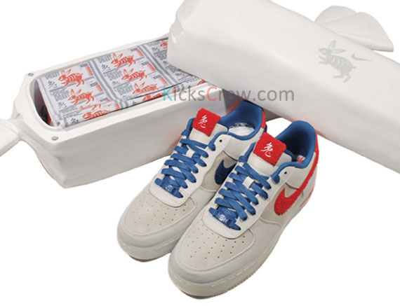 Nike Air Force 1 'Year of the Rabbit' – Collector's Box