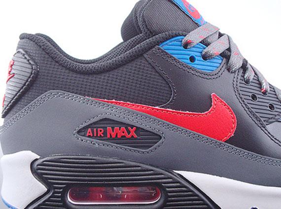 Morto nel mondo fienile puzzle  Nike Air Max 90 GS – Black – Challenge Red – Dark Grey – Blue Spark -  SneakerNews.com