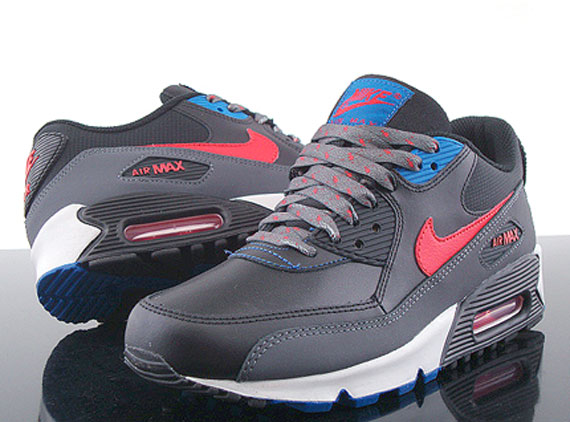 air max 90 red and blue
