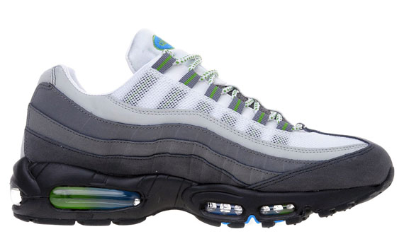 Air Max 95 Green And White