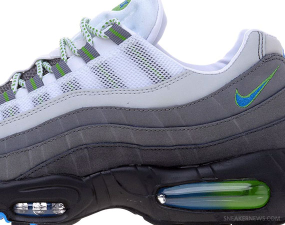 competitive price 3bdba db818 Nike Air Max 95 – Anthracite – Photo Blue – Green Apple ...