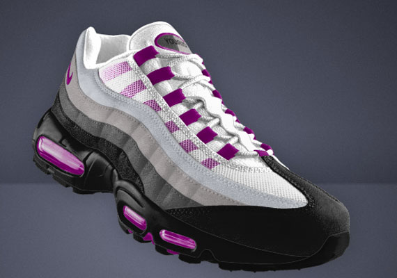 nike air max 95 id white
