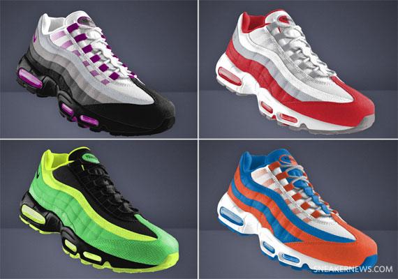 nike air max 95 id mens shoe