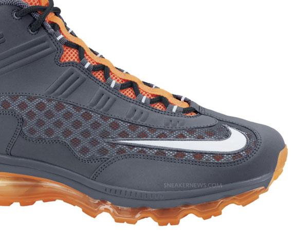 sports shoes 18528 29f3a hot sale 2017 Nike Air Max JR Dark Grey White Total Orange September 2011