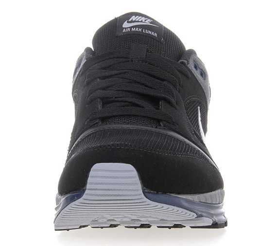 timeless design 696fc 1b568 Nike Air Max Lunar – Black – Wolf Grey – Navy - SneakerNews.com