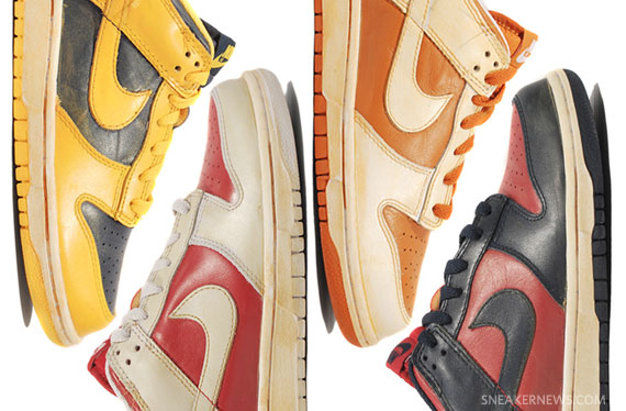 info for d7ceb 98314 Nike Dunk Low Vintage Pack – Detailed Images