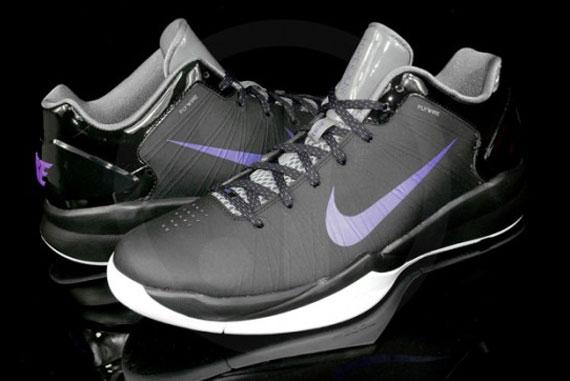 f8f735064246 on sale Nike Hyperdunk 2010 Low Black Varsity Purple Cool Grey ...