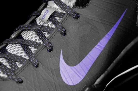 Nike Hyperdunk 2010 Low Black Varsity Purple Cool Grey