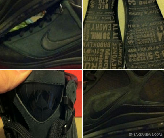 Nike Air Max LeBron VII 'All Black Everything'   Available