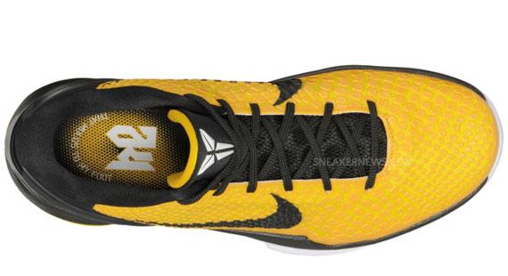 hot sale online c2298 c794d Nike Zoom Kobe VI - Del Sol - Lightbulb - Black - Tour Yello