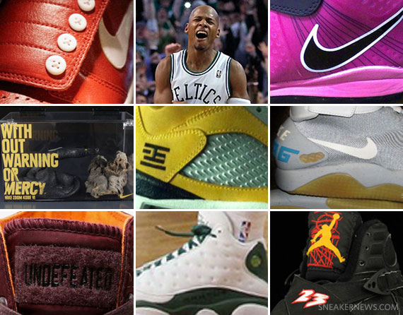 755e52e68ba3e0 It was quite a momentous week in the world of sneakers. Ray Allen ...