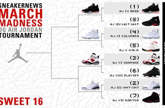 Sneaker News March Madness OG Air Jordan Tournament – Sweet 16 Voting –  Southeast 6e914c91ba27