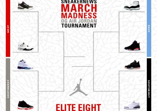 Sneaker News March Madness OG Air Jordan Tournament – Elite Eight Voting 871ff293aee3